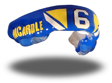Kieran McArdle mouthguard