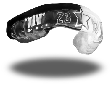 LeBron James mouth guard