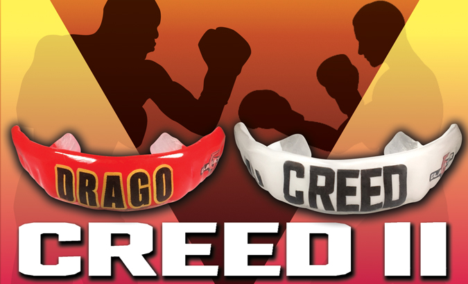 Creed II mouthguards