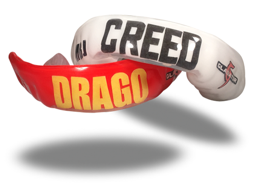 Creed II custom mouthguards
