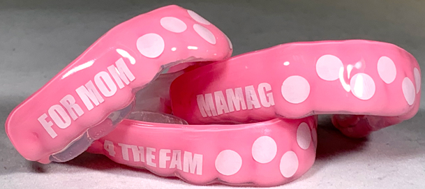 breast cancer mouthguards