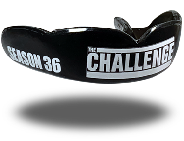 The Challenge 36 mouthguard